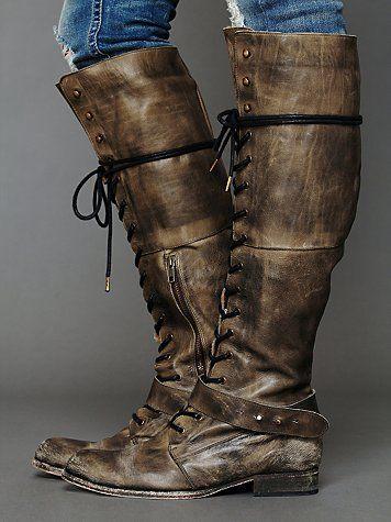 Landmark Lace Boot $348