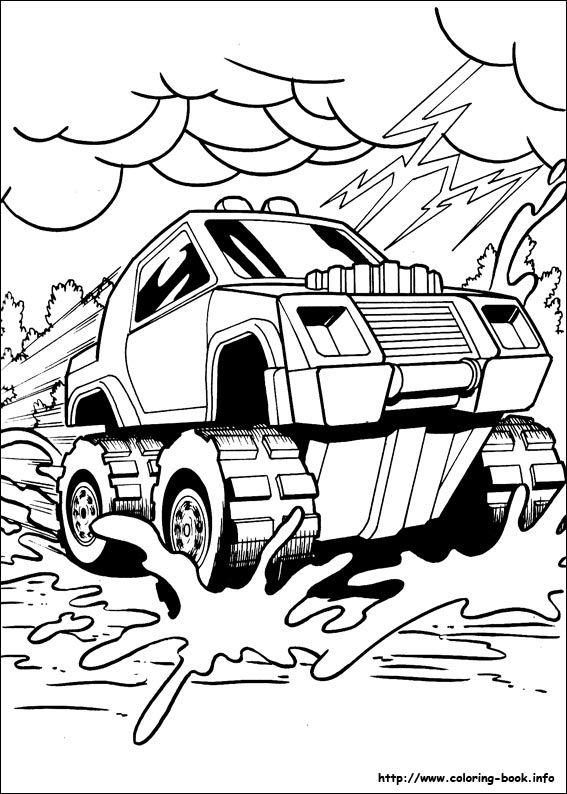 Hot Wheels Coloring Picture Ausmalbilder Autos