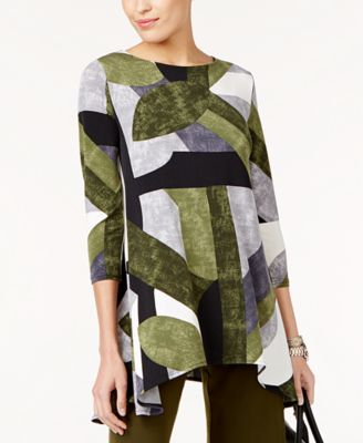 e25414ed9ba Printed High-Low Tunic, Created for Macy's   Products   Swing top ...