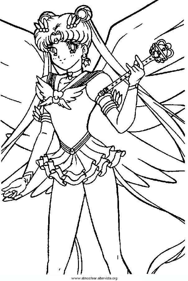 Disegni Da Colorare Sailormoon Anime Manga Pinterest Sailor