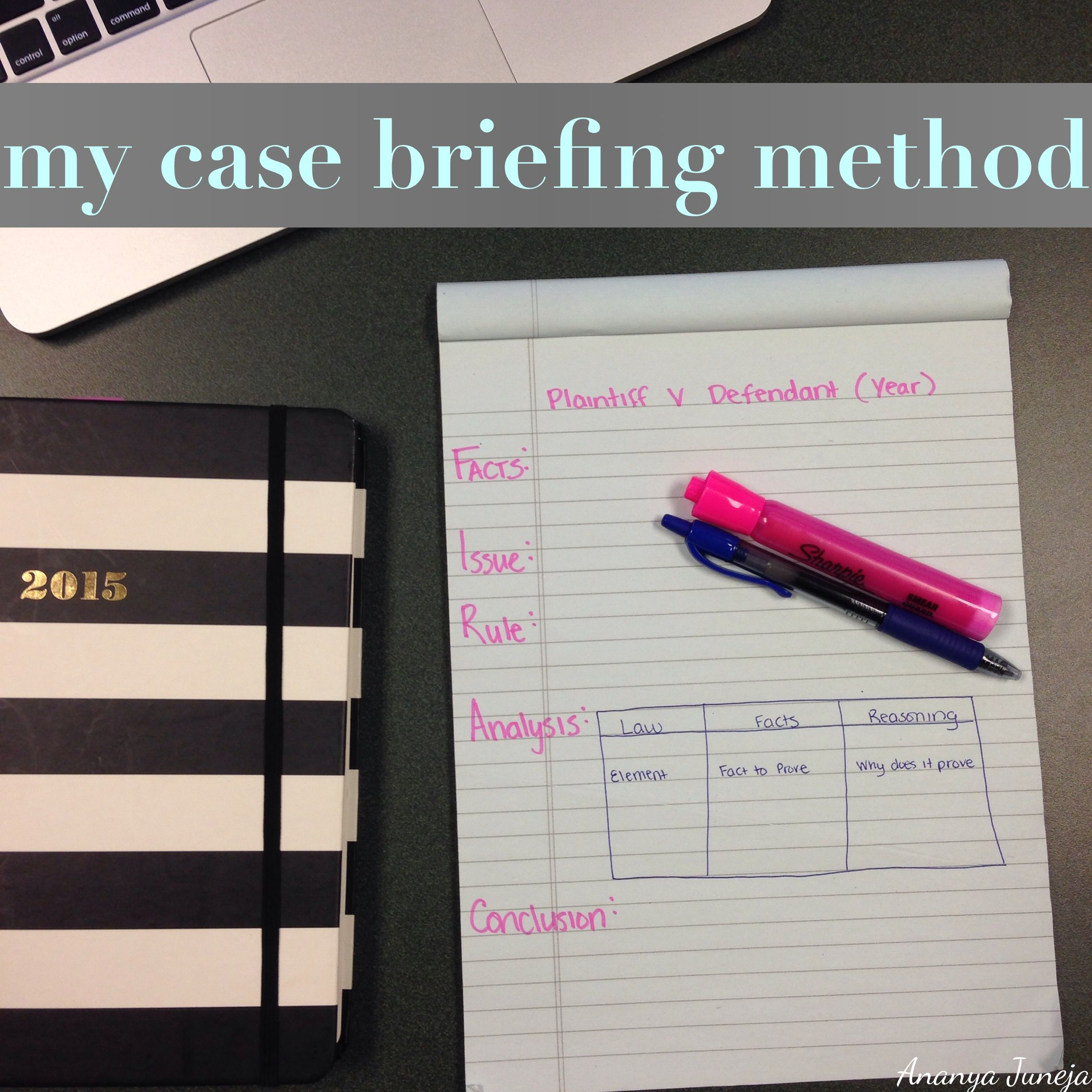 How To Brief A Case For LawSchool via