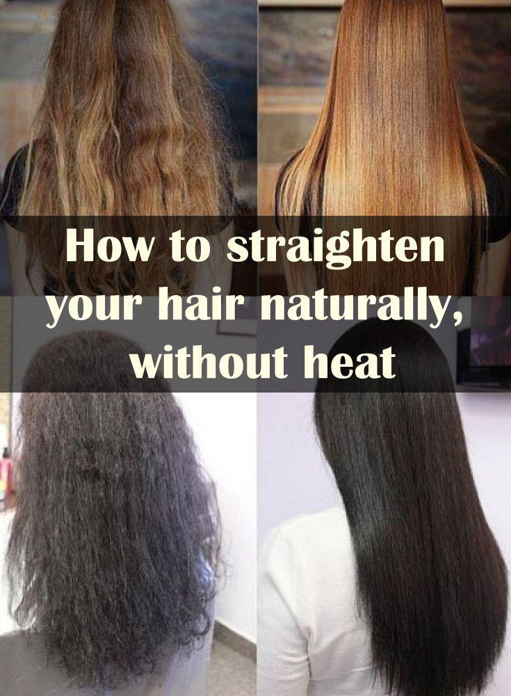 Schicke Frisuren, Frisieren, Die Haare, Alltag, Gute Ideen, Kaufen,  Natürliches Glattes Haar, Haar Ohne Hitze Glätten, Natürlich Haar Geraden