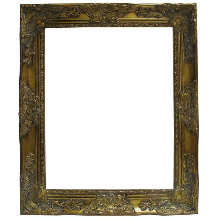 16 X 20 Antique Gold Harrow Open Frame Hobby Lobby 752857 Gold Wood Frames For Canvas Paintings Frame
