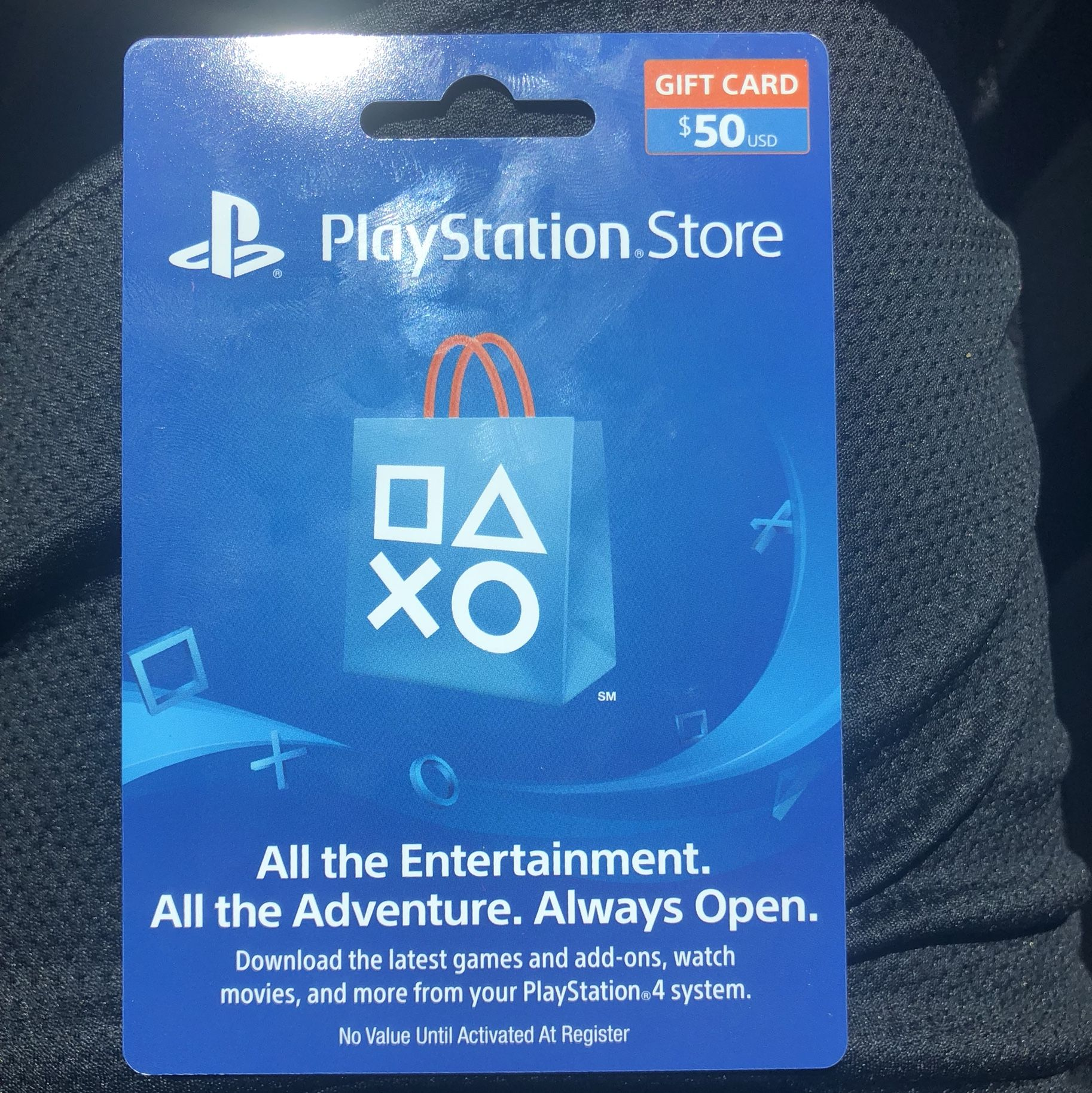 Redeem your entertainment. playstationgiftcardgiveways