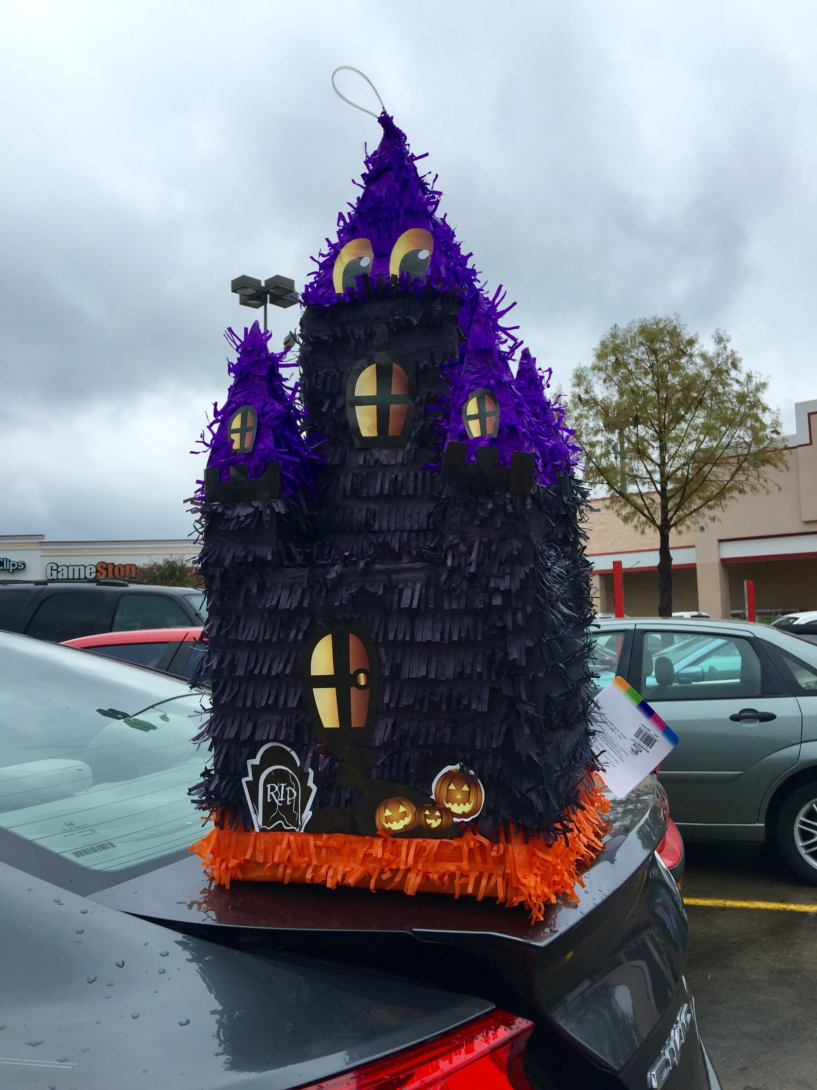 Scary pinata for kids Halloween party from Fiesta Grocery store in ...