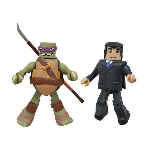 TMNT Teenage Mutant Ninja Turtles Minimates Series 2 Sewer Michelangelo