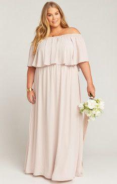Flattering Plus Size Bridesmaid Dresses & Gowns | Show Me Your MuMu ...