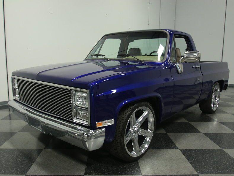 1986 Chevrolet C 10 Pickup Chevrolet Pickups For Sale Custom Trucks