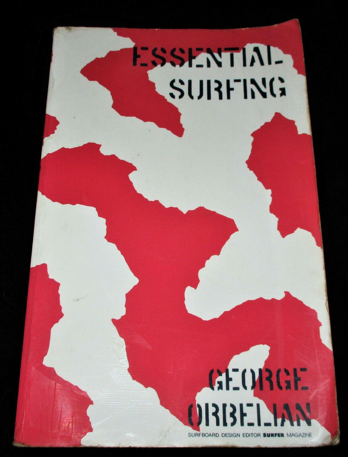 Signed Essential Surfing George Orbelian 1987 Scarce Surfboard Design Repair Surfboard Design Surfboard Surfer Magazine