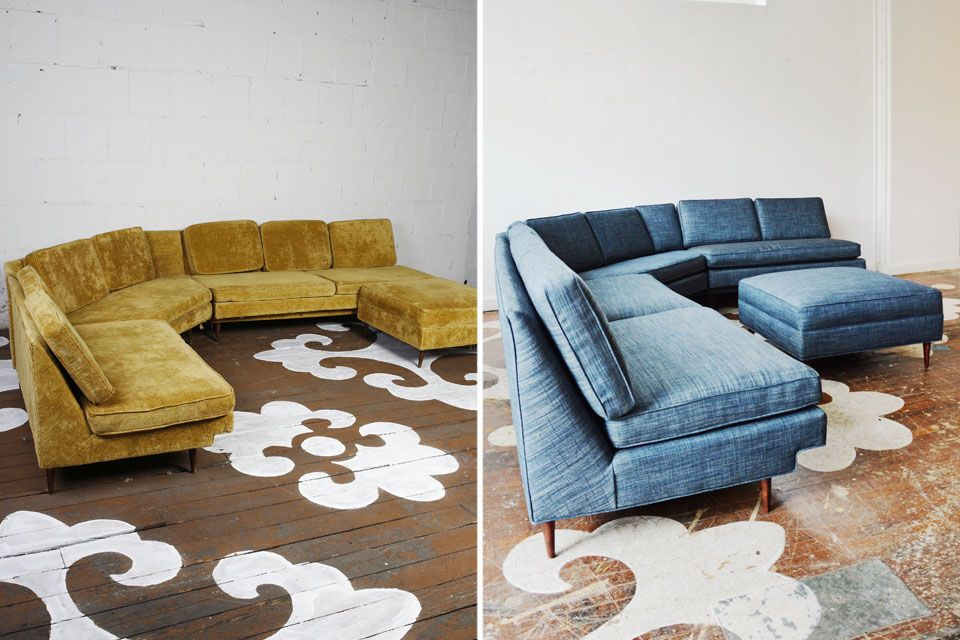 adrian pearsall style midcentury couch adrian pearsall apartment therapy and apartments