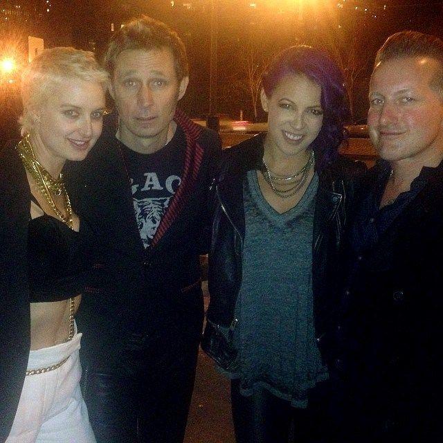 Britt, Mike, Sara, Tre