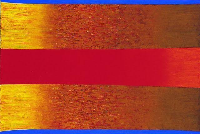 Exposition Art Blog: Polish abstract painting Stefan Gierowski