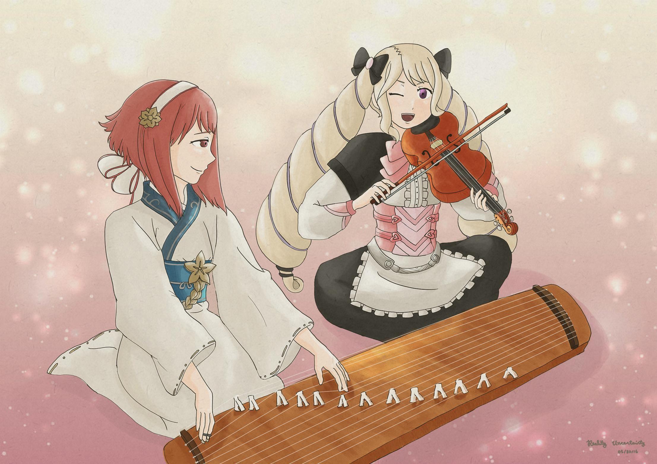 Sakura and Elise conjoined by Jello-dorf on DeviantArt