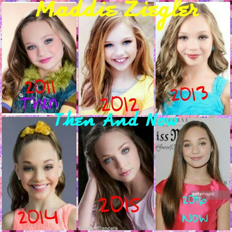 Maddie Ziegler Then And Now