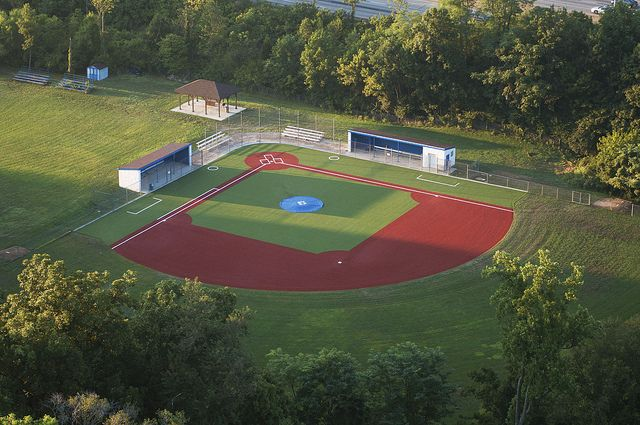 Summit Country Day School Baseball Field Aerial View Country Day School Baseball Field Baseball Park