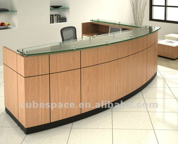 Sample front desk counter area modern reception for Office counter design