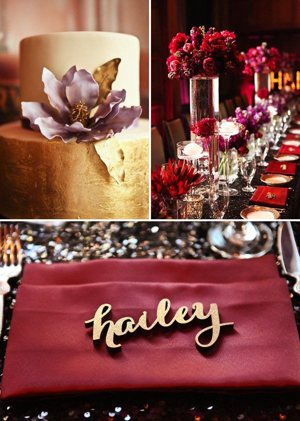 50th Birthday Dinner Party Ideas Part - 49: Dramatic U0026 Glamorous Dinner Party {30th Birthday