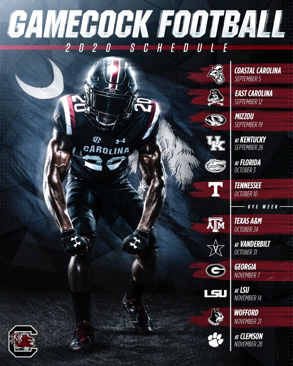 South Carolina Football 2020 In 2020 Gamecocks Football Gamecocks Carolina Football