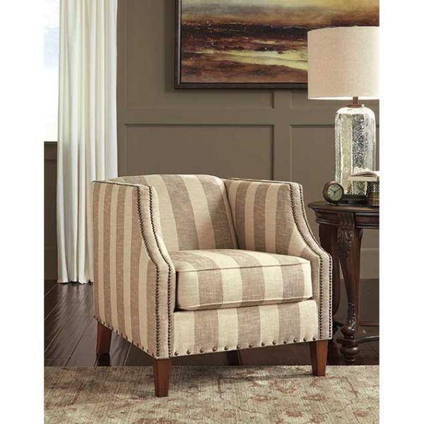Berwyn View Stripe Accent Chair II 891AC