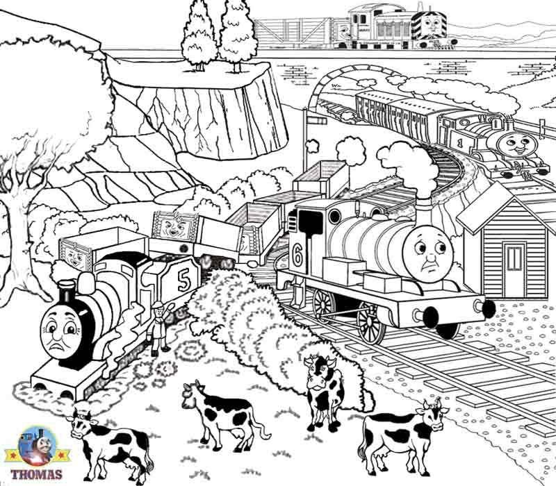 Afbeeldingsresultaat voor coloring page thomas journey beyond sodor ...