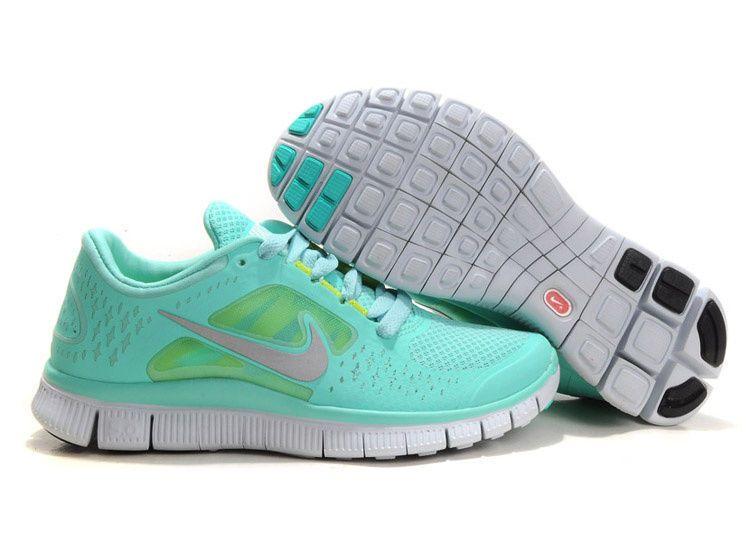 size 40 0eadc d8e5e Nike Free Run 3 V5 Women s Running Shoes Tropical twist Mint Green! - Size