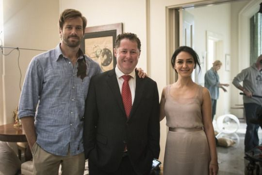 Armie On Set Hotel Mumbai Armie Hammer Big Screen Actors