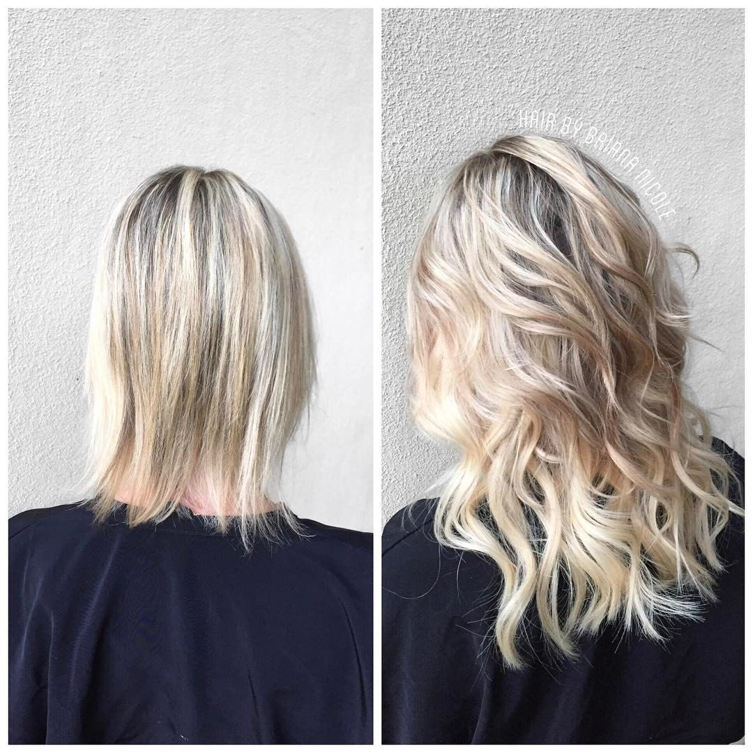Hairbybriananicole Before After Tape In Hair Extensions Hair Exte Hair Extensions For Short Hair Hair Extensions Before And After Tape In Hair Extensions