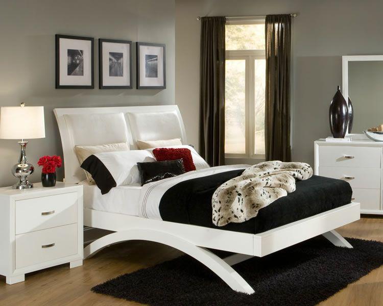 Unique Beds Unique White Platform Bed Furniture Store Chicago Platform Bedroom Sets Bedroom Sets Bedroom Sets Furniture Queen