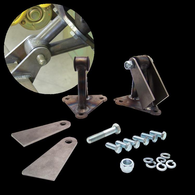 Small Block Chevy Motor Mount Brackets: GM Universal Motor Mount Kit For Big And Small Block Chevy