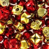 Red and Gold Jingle Bells