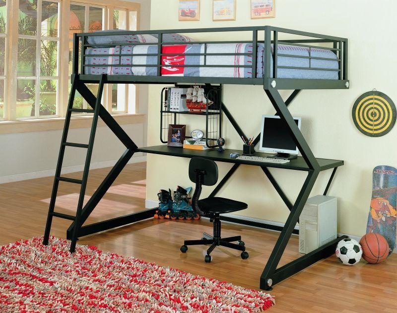 Hochbett Mit Schreibtisch Drunter Hochbett Schreibtisch Metall Hochbett Der Holzboden Schublade Schreibtisch Besidebe Diy Loft Bed Loft Bed Loft Beds For Teens