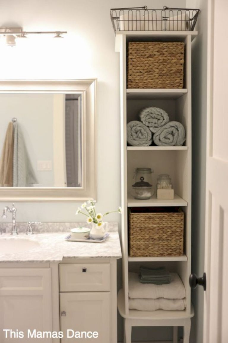 15 Bright Storage Ideas To Keep Your Bathroom Organized 15 ...