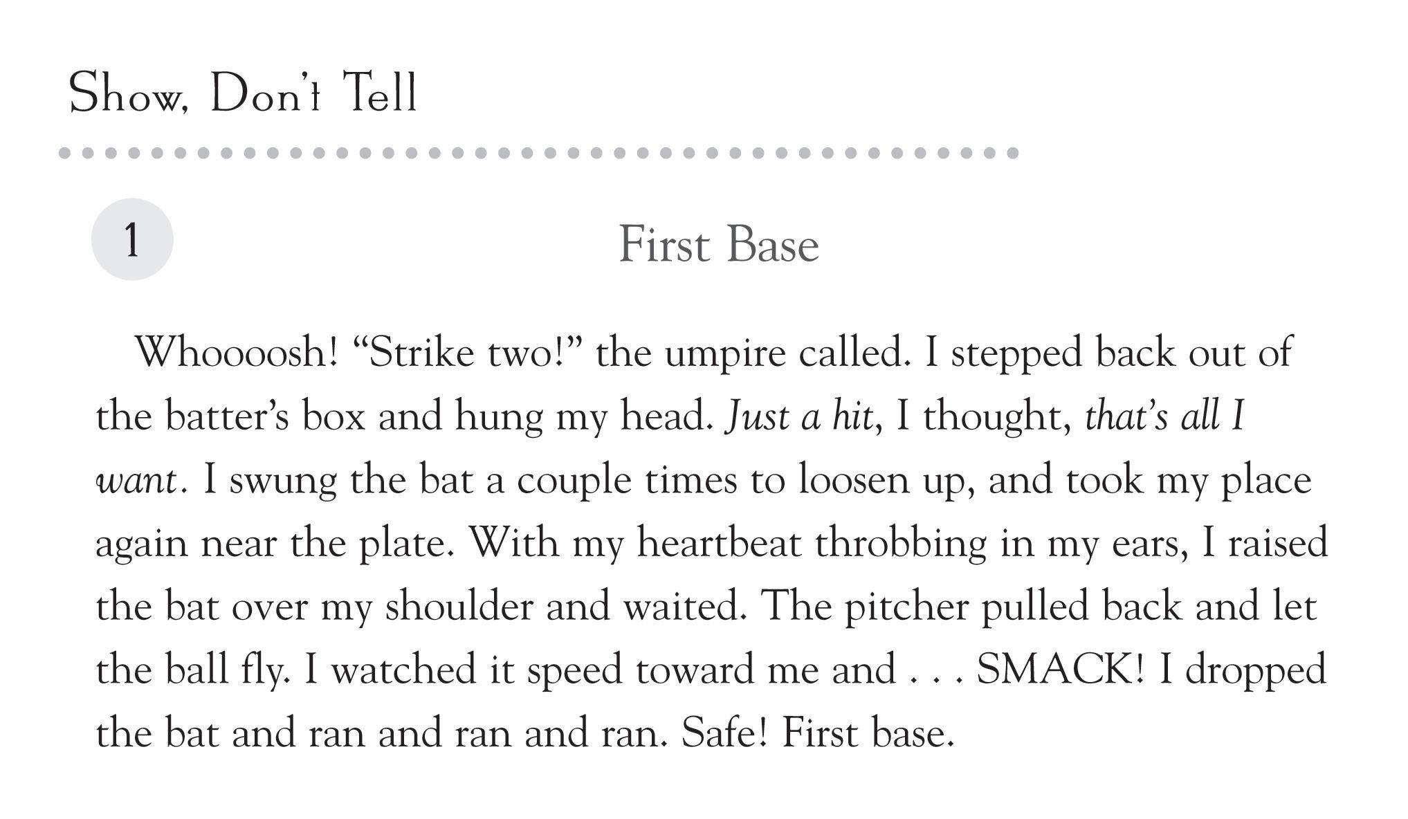 Sample 3rd Grade Paragraph