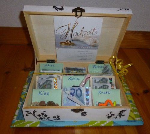 Geldgeschenk Silberhochzeit Presents Pinterest