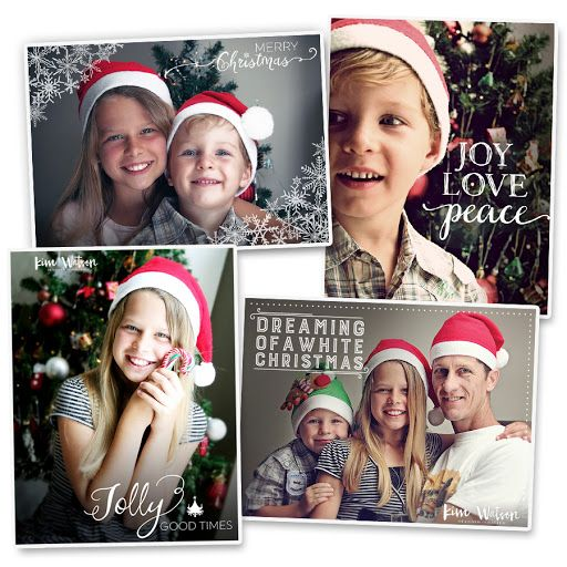 Kim Watson Design Papercraft Free Christmas Photo Overlays Free Holiday Card Templates Holiday Card Template Christmas Cards Free