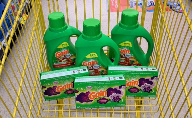 New 5/25 Dollar General Coupon 0.29 for Gain Products