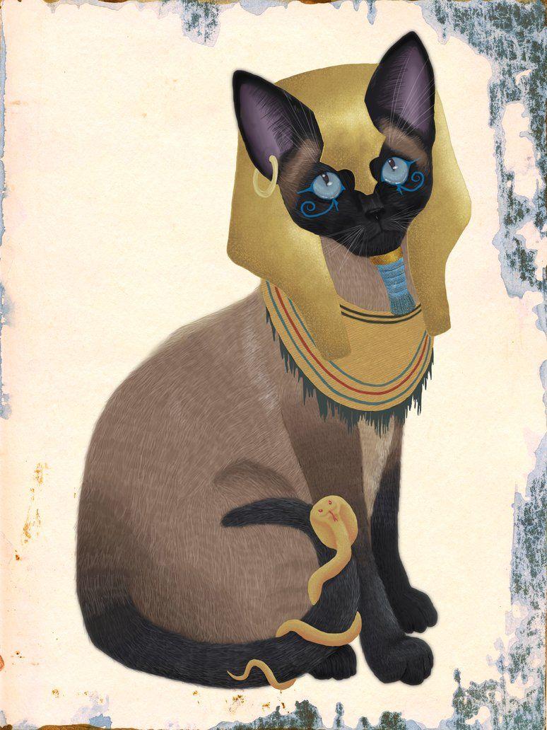 коты в египте рисунок полуприцепы