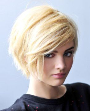 2014 hair trends...like the long layers on the short bob.
