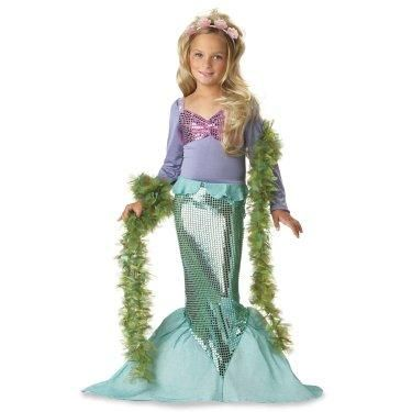 Lil' Mermaid Toddler / Child Costume
