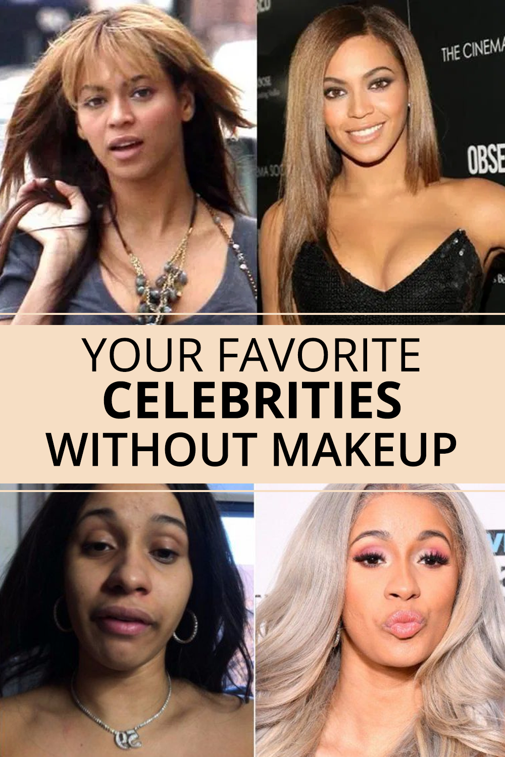 Favorite Celebrities Without Makeup Celebrities Without Makeup Favorite Celebrities