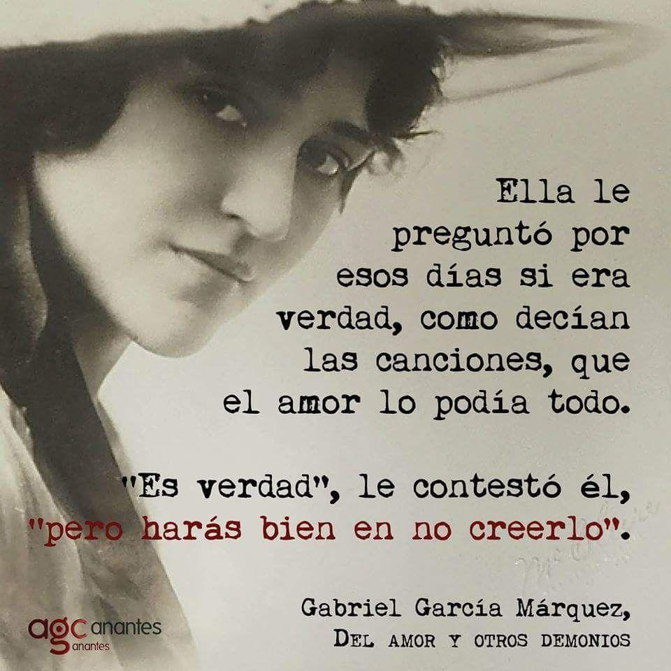 Vivianne On Gabriel García Márquez Palabras Interesantes