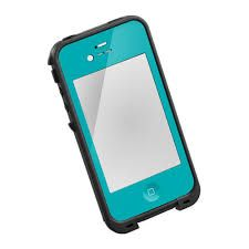 Turquoise Life Proof iPhone case