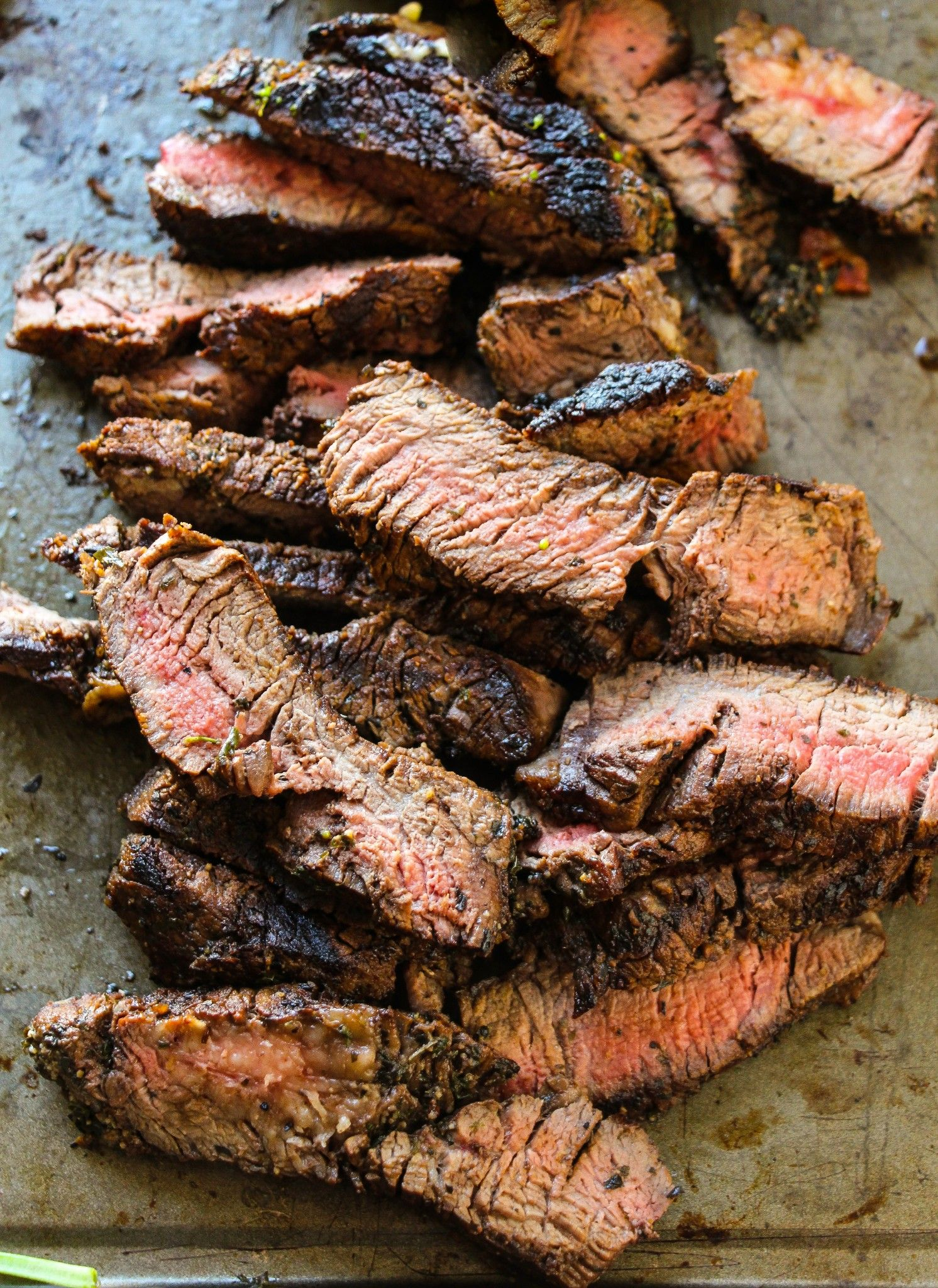 Best-Ever Simple Flank Steak Marinade - Layers of Happiness
