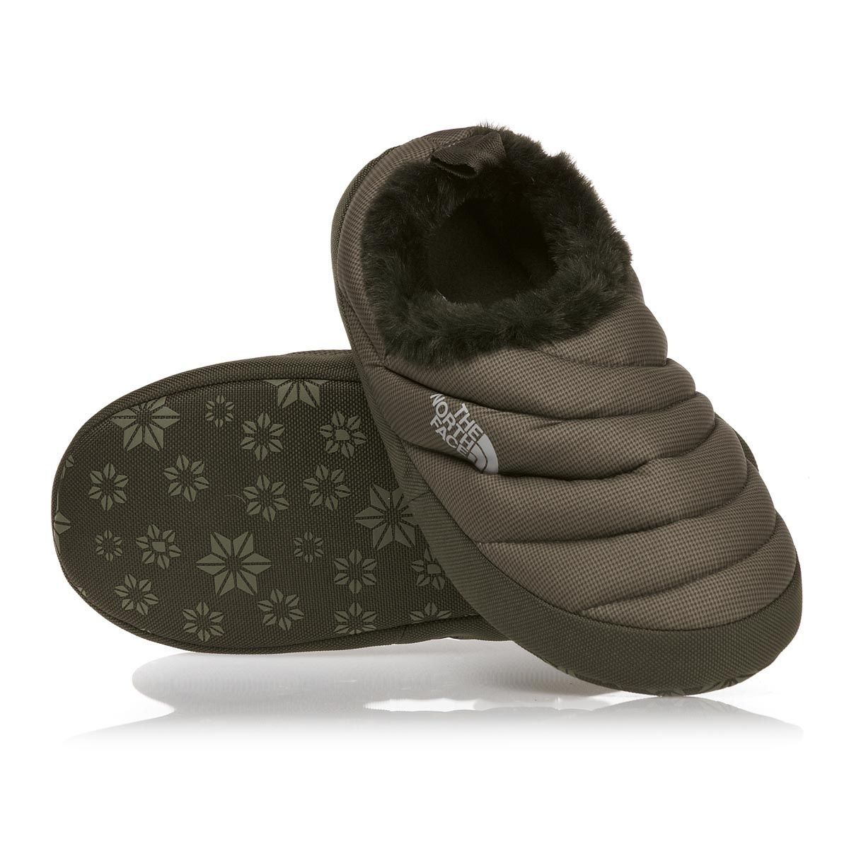 83a87c7d2 The North Face Women's NSE Tent Mule Fur II Slippers - Brown ...