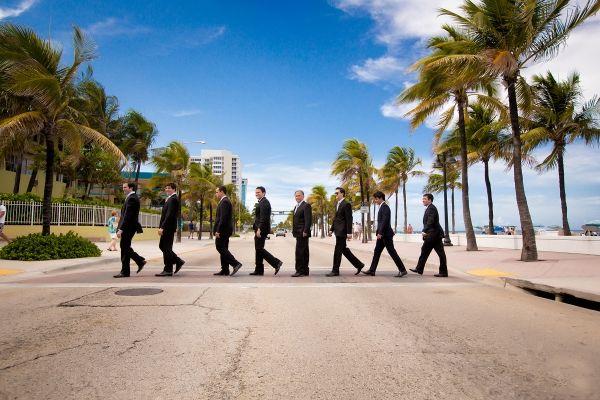 Padrinhos. Wedding destination: Flórida.