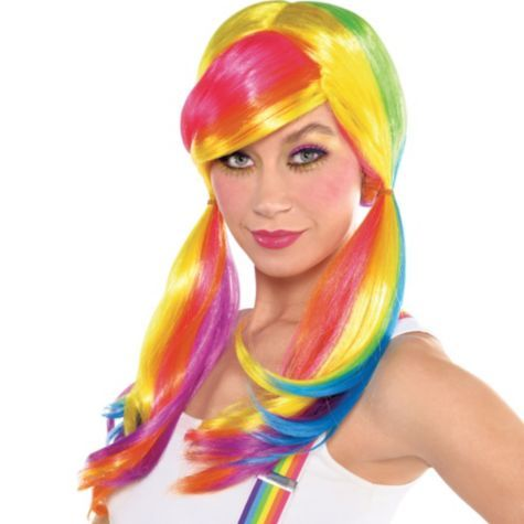 Rainbow Dash Wig Party City My Little Pony Costume Halloween Costume Wigs Rainbow Dash