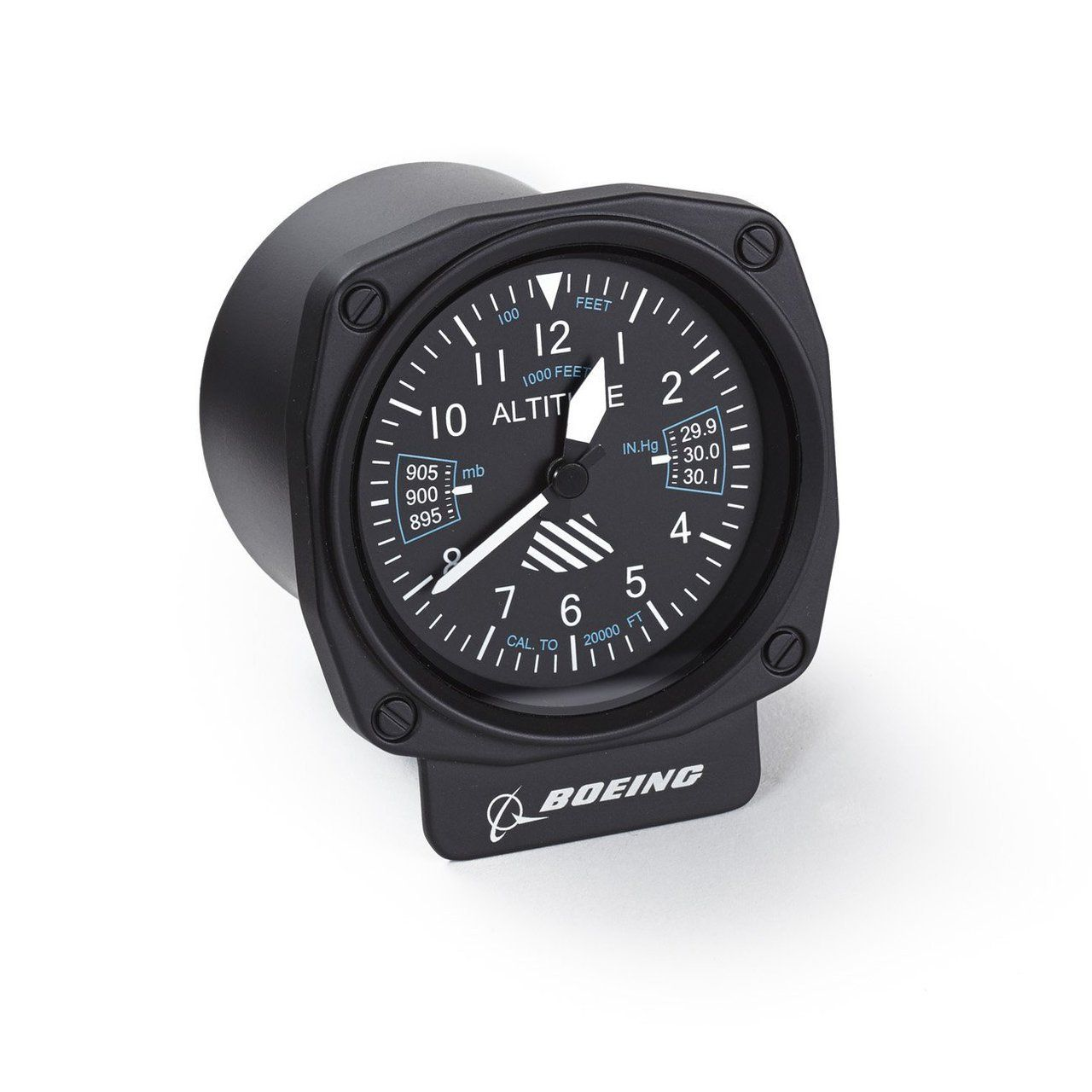 Watch Time Fly With This Desk Clock That S Cleverly Designed To Look Like A Genuine Airplane Altimeter Keep Track Of While Experiencing The Excitement