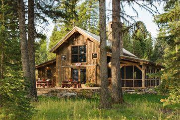 Cruz Cabin rustic exterior
