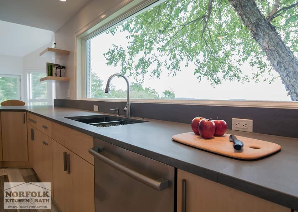 This Beautiful Contemporary Kitchen Was Designed By Mariah From Our Nashua,  NH Showroom. The