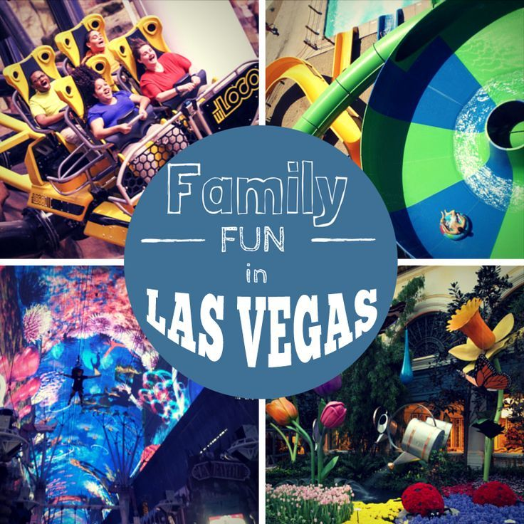 A list of las vegas attractions and activities for the family on and off of